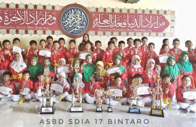 Al Azhar Seni Bela Diri (ASBD) Ke-2 Tahun 2018 Tingkat SDI Al Azhar Se-Indonesia
